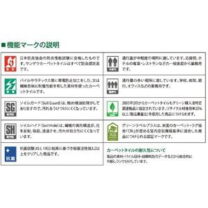 カット&ループ タイルカーペット サンゲツ DT-4550 アビリオサイズ 50cm×50cm 12枚セット色番 DT-4552 【防炎】 【日本製】