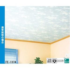 光る壁紙(蓄光) のり無し壁紙 サンゲツ FE-1374 92cm巾 5m巻