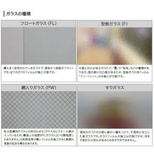すりガラス調 飛散防止・UVカット ガラスフィルム サンゲツ GF-711 97cm巾 3m巻