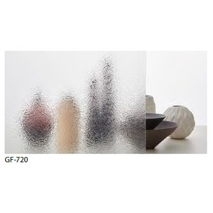 型板ガラス調 飛散低減 ガラスフィルム サンゲツ GF-720 93cm巾 5m巻