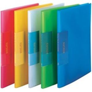 (業務用100セット) ビュートン 薄型クリアファイル/ポケットファイル 〔A4〕 20ポケット FCB-A4-20C
