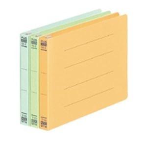 (業務用10セット) プラス フラットファイル/紙バインダー 〔B6/2穴 10冊入り〕 ヨコ型 052N ブルー(青) ×