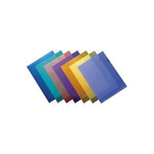 (業務用3セット) ジョインテックス Hカラークリアホルダー/クリアファイル 〔A4〕 100枚入り 青 D610J-10B