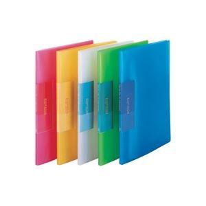 (業務用200セット) ビュートン 薄型クリアファイル/ポケットファイル 〔A4〕 10ポケット FCB-A4-10C レッ