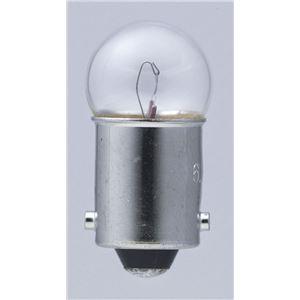 (業務用セット) ELPA 小パネル球 電球 6.3V BA9S クリア 2個入 G-3002H 【×30セット】