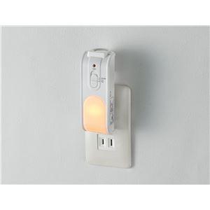 (業務用セット) ELPA 懐中電灯付LEDセンサーライト TDH-301 【×2セット】