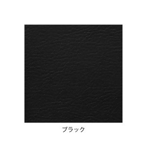 デザイナーズスツール アジャスター付き クリア(ビニールレザー:ブラック/ABS)〔Mona.Dee〕モナディー WAS01