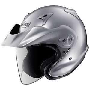 アライ(ARAI) ジェットヘルメット CT-Z アルミナシルバー S 55-56cm