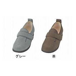 介護靴 施設・院内用 ダブルマジック2ヘリンボン 3E 1037 両足 徳武産業 あゆみシリーズ /LL (24.0〜24.5c