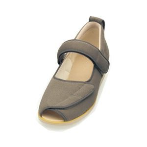 介護靴 施設・院内用 オープンマジック2 3E 1015 片足 徳武産業 あゆみシリーズ /3L (25.0〜25.5cm) M