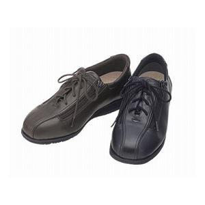 介護靴 外出用 コンフォート2 3E 1311 両足 徳武産業 あゆみシリーズ / 4L (26.0〜26.5cm) 黒