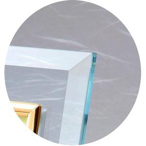 クリスタル絵画フォトフレーム/写真立て 〔ハガキサイズ 150×105mm対応〕 吉岡浩太郎 「白富士桜」