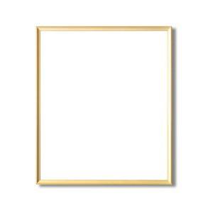 デッサン額縁/フレーム 〔大全紙サイズ 727×545mm〕 ゴールド 壁掛けひも付き 化粧箱入り 5003