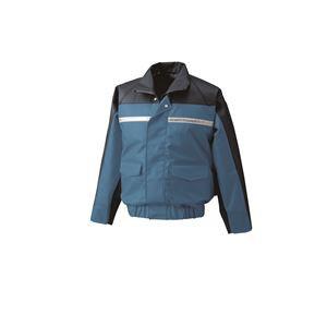 ナダレス空調服ブルゾン リチウムバッテリーセット BR-500NC04S3 ブルー L