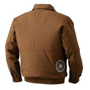 空調服 綿薄手長袖タチエリブルゾン リチウムバッテリーセット BM-500TBC06S3 シルバー L