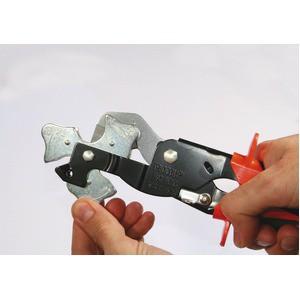 チューブカッター//作業工具 〔3段ガイド〕 全長255mm 自動ロック 『トリオコップ』