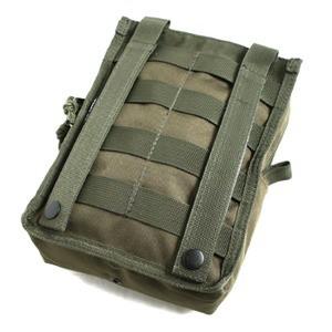 BP092YNモール対応防水布使用オペレーション ウェストポーチ ブラック