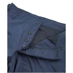 アメリカ軍 BDU カーゴパンツ /迷彩服パンツ 〔 XSサイズ 〕 リップストップ YN521007 ネイビー 〔 レプリ