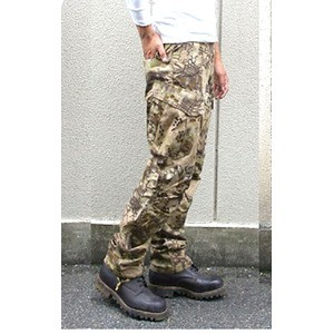 アメリカ軍 最新鋭ステレス 迷彩オペレーター吸汗速乾パンツ HCPデザート S