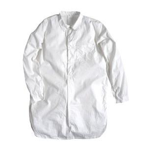 スウェーデン軍プルオーバースリーピングシャツホワイトレプリカ《40(メンズフリー相当》