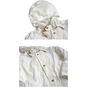 スウェーデン軍M40スノーパーカーコートレプリカ  ホワイト 《3サイズ(メンズL)》