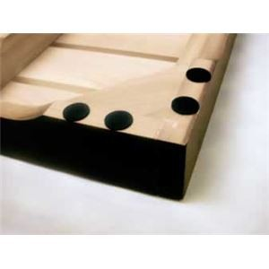桐三つ折りすのこベッド シングル 木製(桐)/スチール 【完成品】【代引不可】