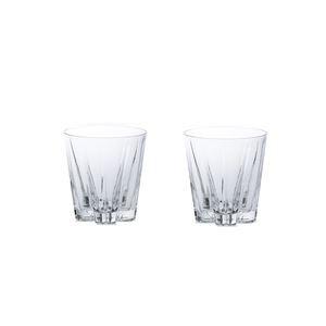"""SAKURASAKU """"SAKE""""glass クリアー ペアセット GG-02R"""