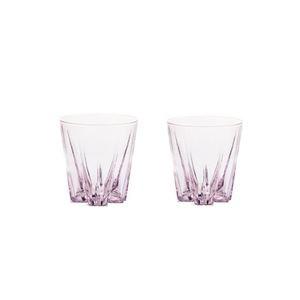 """SAKURASAKU """"SAKE""""glass 桜色(ピンク) ペアセット GG-02T"""