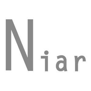 〔Niar(ニアー)〕フルール レインポンチョ/ブルー