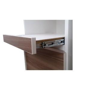 ハイレンジボード 幅75cm 二口コンセント/スライドテーブル付き 日本製 ホワイト(白) 【完成品 開梱設置】【代引不可】