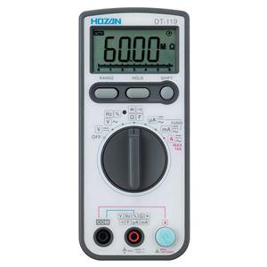 〔ホーザン〕デジタルマルチメータ DT-119