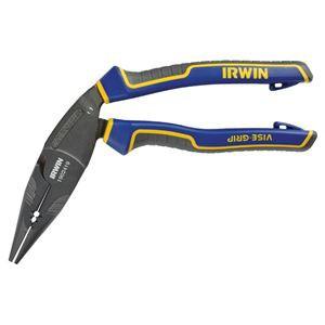 """IRWIN(アーウィン) 1902419 8"""" エルゴマルチロングノーズ゛プライヤ 205mm"""