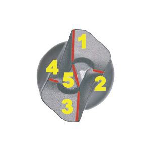 BOSCH(ボッシュ) X5L048160 SDSプラス X5L 4.8X160