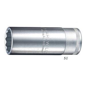 STAHLWILLE(スタビレー) 51-13 (1/2SQ)ディープソケット (12角)(03020013)