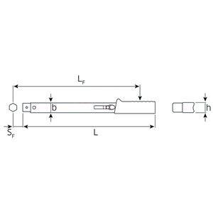 STAHLWILLE(スタビレー) 730/2 トルクレンチ (4-20NM) (50180002)