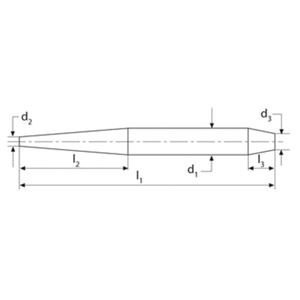 RENNSTEIG(レンシュタイグ) 448 041 0 アッセンブリーポンチ 250x35x13mm
