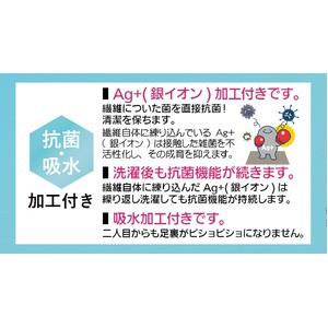 Ag+抗菌ワッフルバスマット/お風呂マット 【50×80cm ブルー】 吸水加工 洗える すべり止め加工