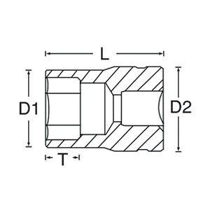 SIGNET(シグネット) 14356 3/4DR 24MM ソケット