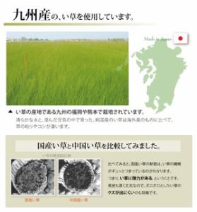 純国産/日本製 双目織 い草上敷 『草津』 江戸間3畳(約176×261cm)