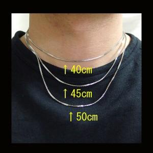 ステンレス・デザインチェーン(10)選択可40cm・45cm・50cm/ステンレスネックレス・医療用サージカルス送料無料
