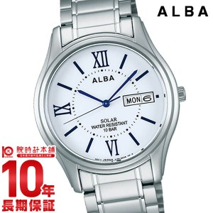 セイコー アルバ ALBA ソーラー 100m防水 AEFD554 メンズ