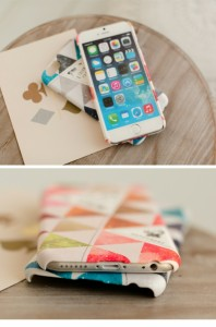 iPhone6s/6 ケース  Happymori Triangle Pattern(ハッピーモリ トライアングルパターン)アイフォン カバー バータイプ