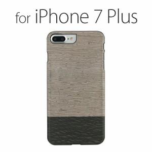 iPhone7 Plus 天然木ケース Man & Wood Lattis (マンアンドウッド ラティス)アイフォン カバー 木製