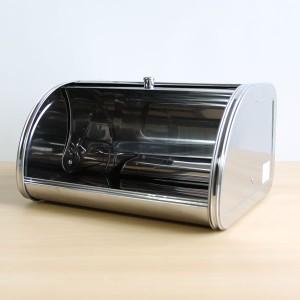 ブレッドケース ショート シルバー bread case パンケース