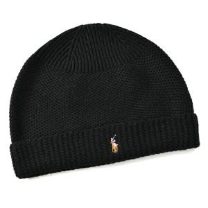 ポロ ラルフ ローレン POLO RALPH LAUREN  メリウール100% 帽子 6F0402 0004 001【40-】