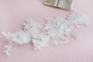 【即納】お花とパールでかれんな花嫁 ウェディング ヘッドドレス  ブライズメイド