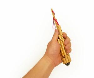 アジアの楽器 ヴォット Sサイズ 筒型8連 タイの民族楽器 [長さ約25cm] アジアン雑貨 バリ雑貨 タイ雑貨 スパエステ用品