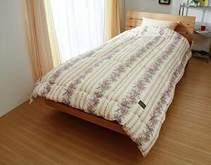 魔法の布団清潔シンサレート ウルトラΣ防ダニ+制菌掛け布団シングルロングサイズ日本製