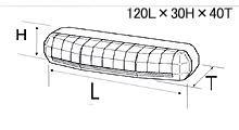 【VELIAS】 市光工業 LEDデイタイムランプ タイプ2Xキット ホワイト12V