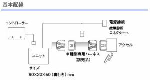 Pivot 3-drive フラット ハーネスset レガシィ BL/BP5(E型〜)  (ピボット スロコン)